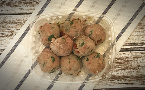Paleo Sun-dried Tomato Artichoke Turkey Meatballs