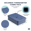 DecarBox Thermometer Combo Pack