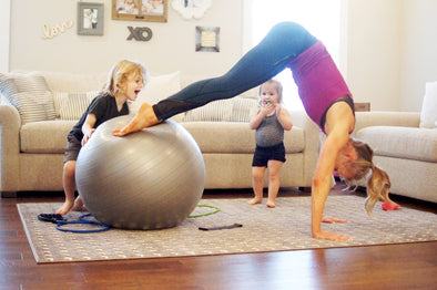 HIIT Home Workout #Momlife