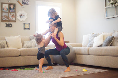 20 Minute Home Full Body Workout for Busy Mom's
