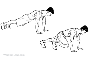 Mountain Climbers 20 seconds