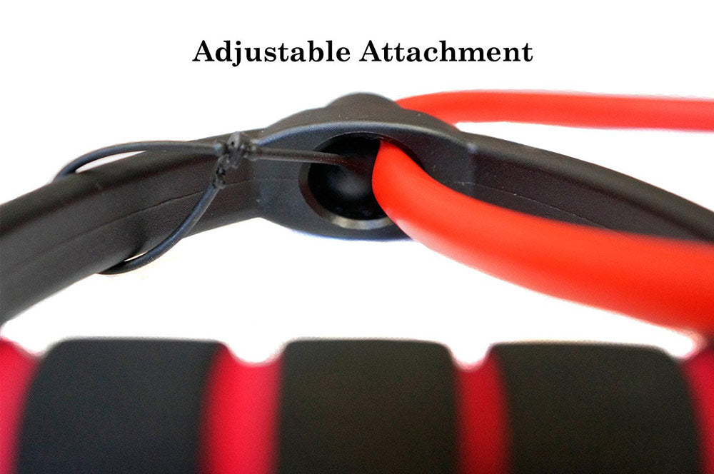 ProGrade resistance band with adjustable attachment