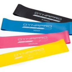 Mini resistance bands to increase strength and flexibility