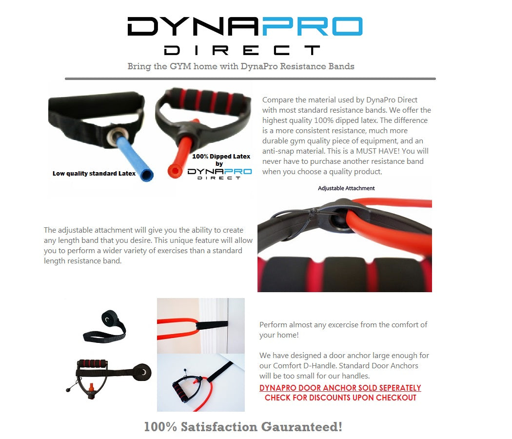 High quality DynaPro resistance bands