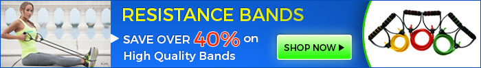 Save over 40% on high quality resistance bands