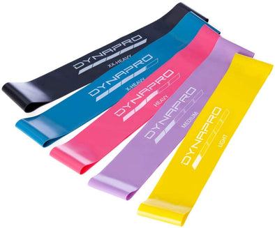 DYNAPRO Mini Resistance Bands 10 inch or 12 inch