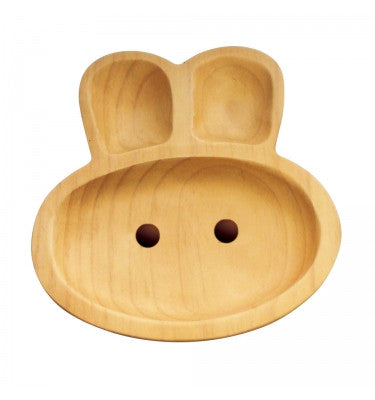 Bunny Wooden Plate
