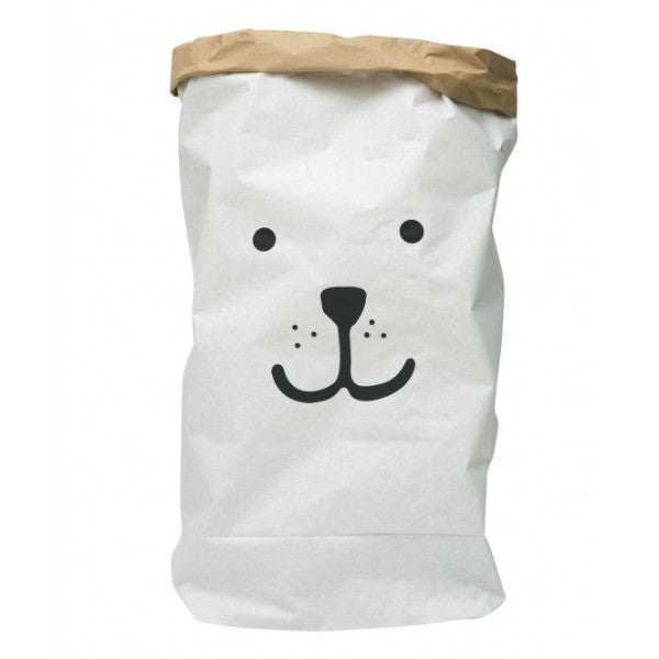 Bear Paper Bag Storage