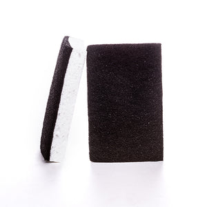 Kitchen Black & White Scourer Sponge - Pack of 2