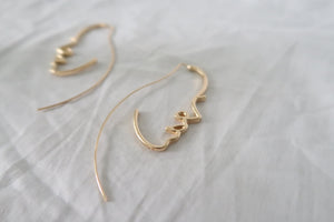 Side Face Earrings
