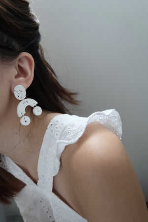 Mobile Earrings - Speckle