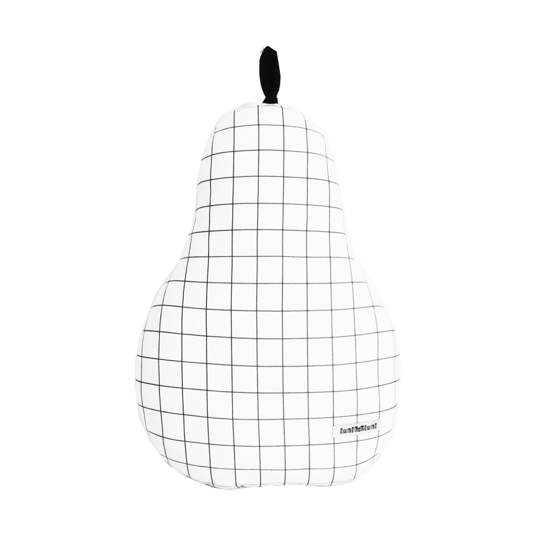 Grid Pear Cushion