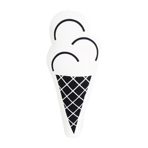 Monochrome Ice Cream Cushion