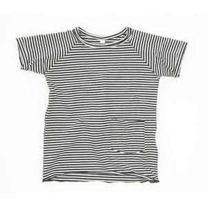 T-Shirt - Black & White Stripes
