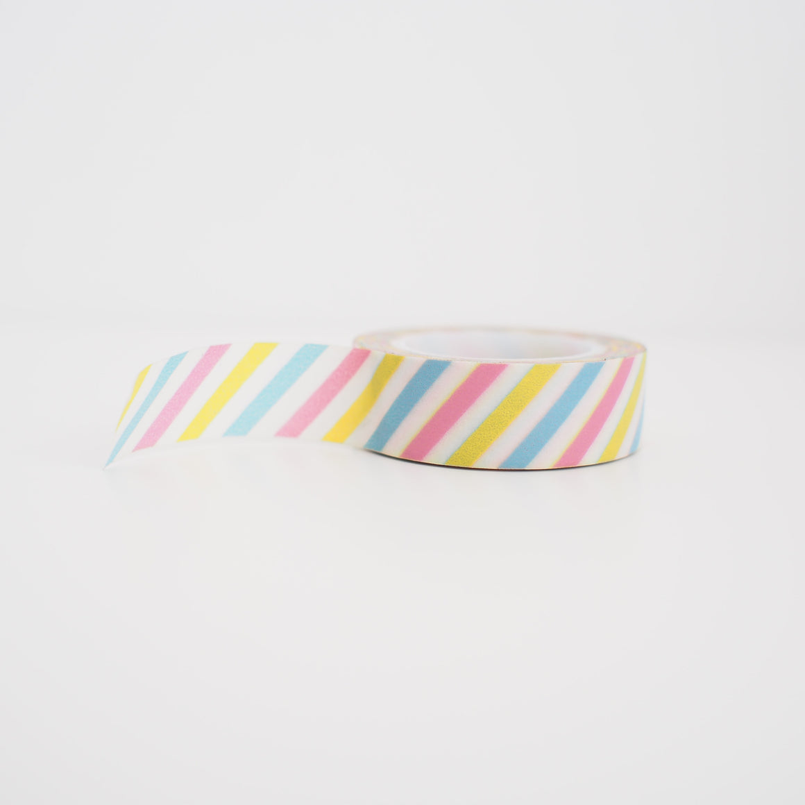 Washi Tape - Pastel Diagonal Stripes