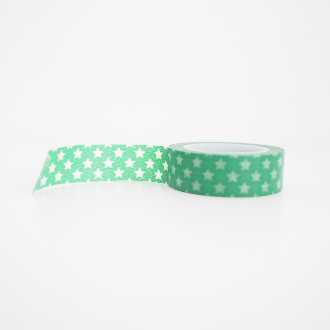 Washi Tape - Green Stars