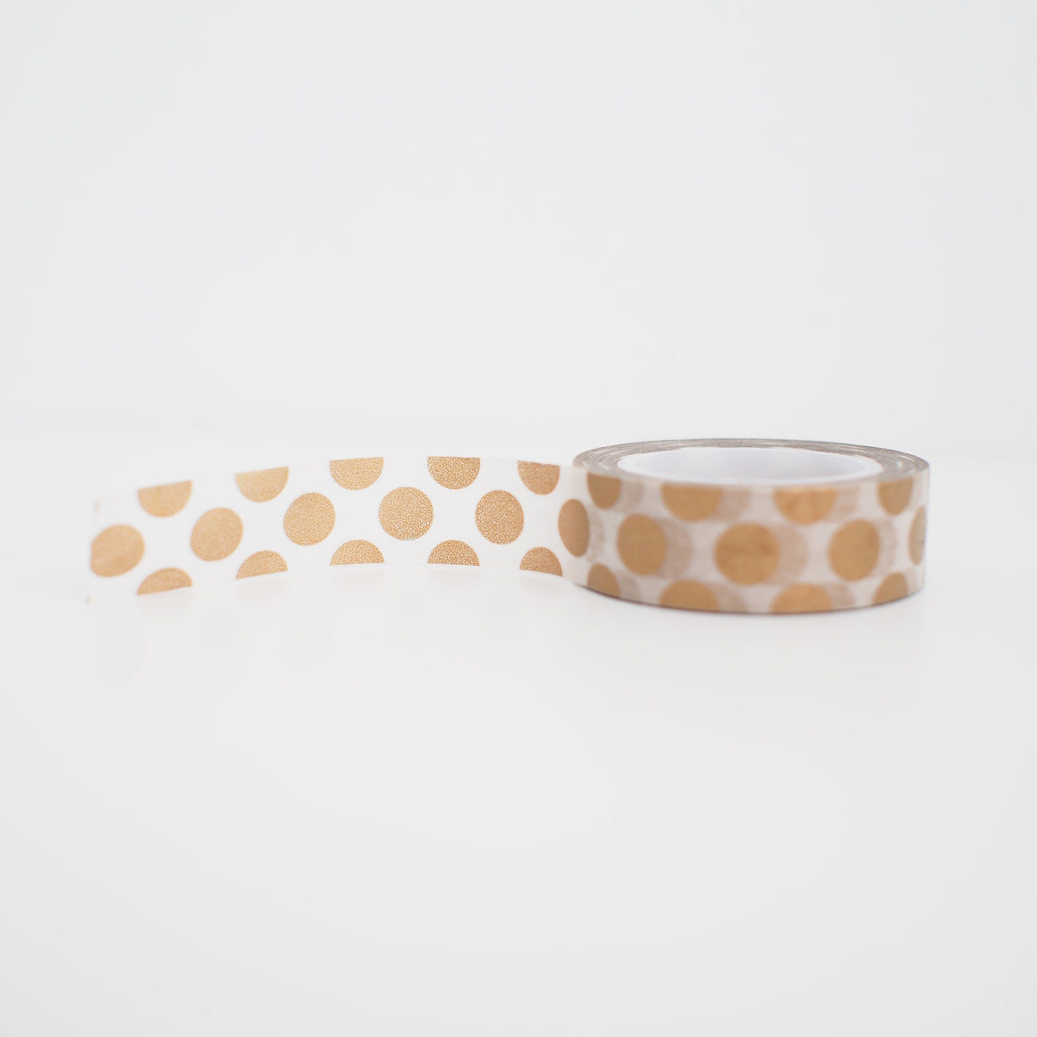 Washi Tape - Gold Dots