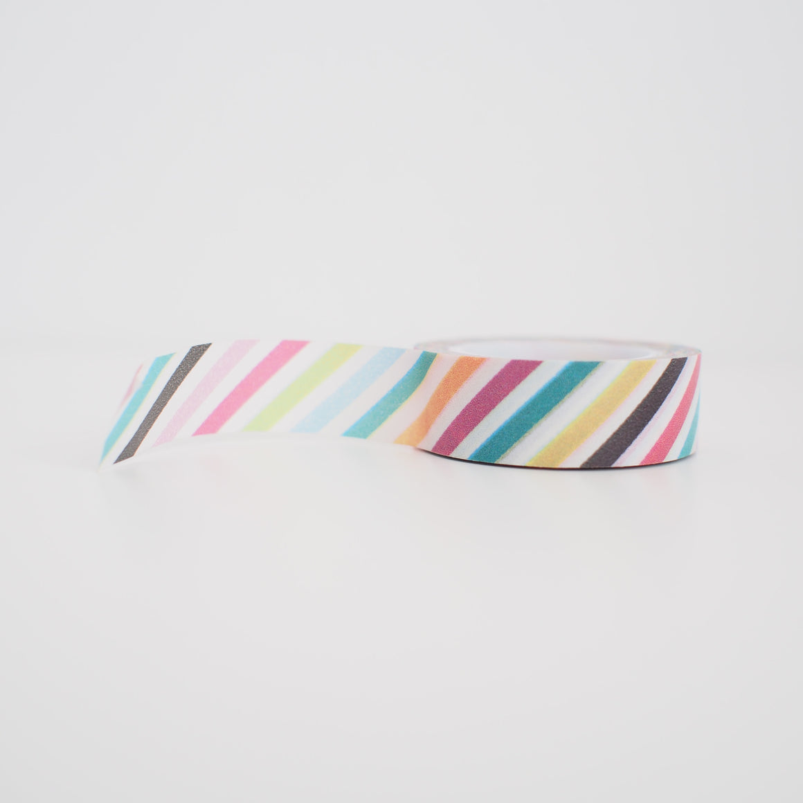 Washi Tape - Rainbow Diagonal Stripes