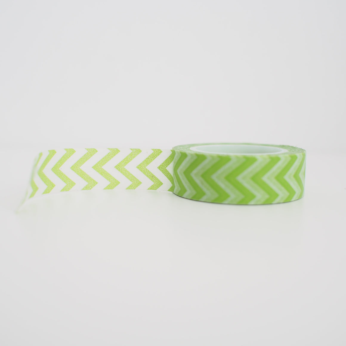 Washi Tape - Green Chevron