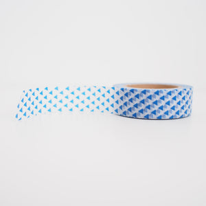Washi Tape - Blue Triangles