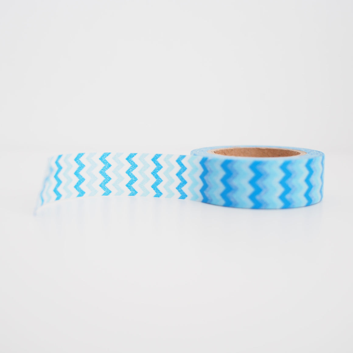 Washi Tape - Mini Blue Chevron