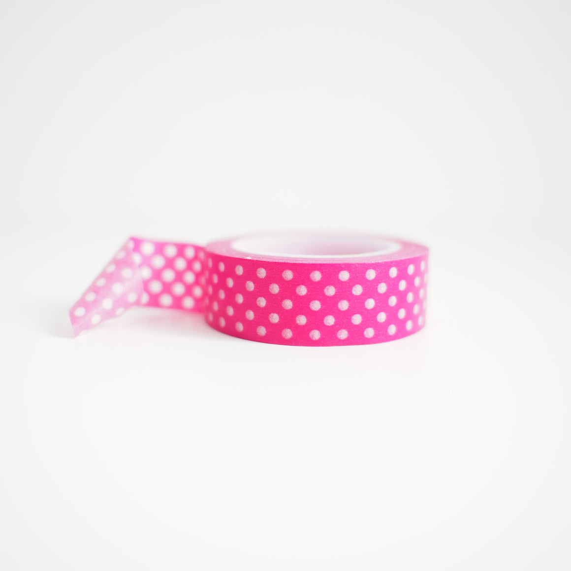 Washi Tape - Fuchsia Dots