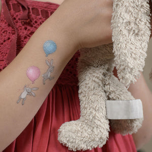 Boo & the Balloon Temporary Tattoo Set
