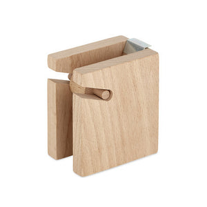 Wood Tape Block Dispenser No. 1