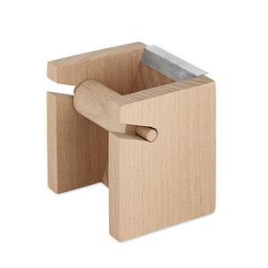 Wood Tape Block Dispenser No. 3