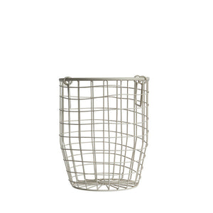 Small Wire Basket - White