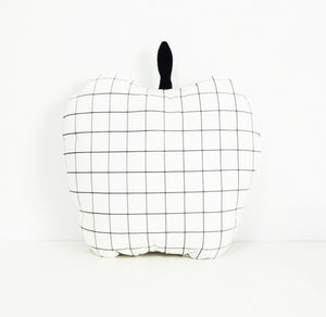 Grid Apple Cushion