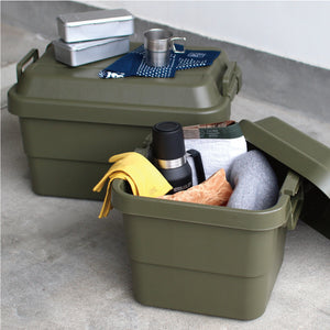Trusco Trunk Cargo Box in Olive