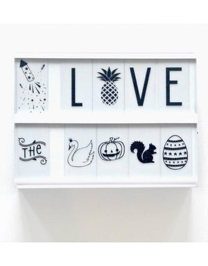Light Box Celebrations Symbol Set