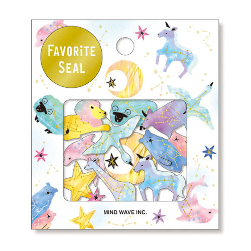 Favourite Seal Sticker Set - Planisphere