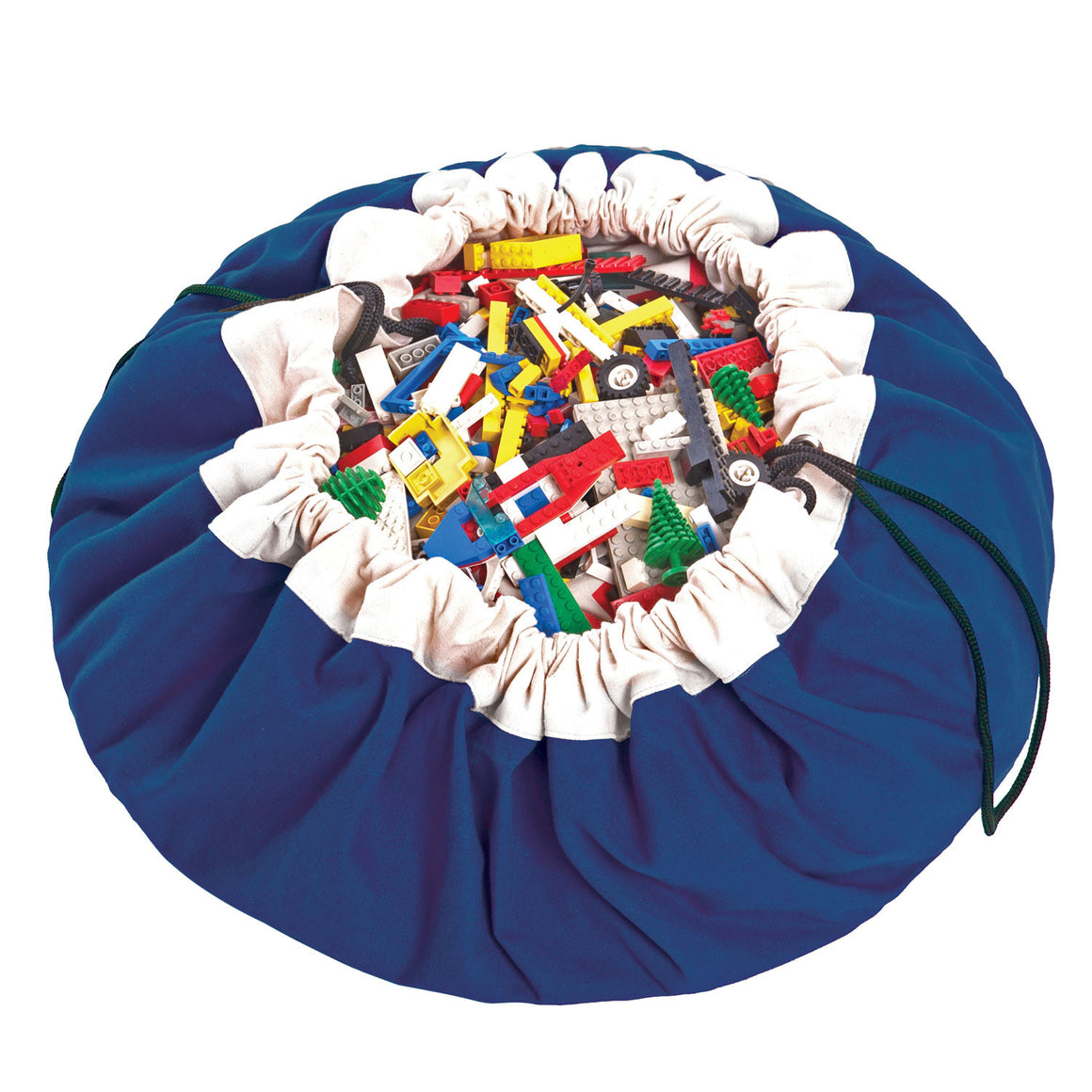Toy Storage & Play Bag - Cobalt Blue