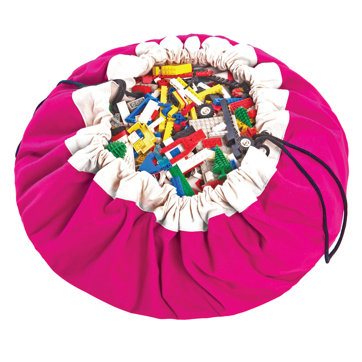 Toy Storage & Play Bag - Fuchsia