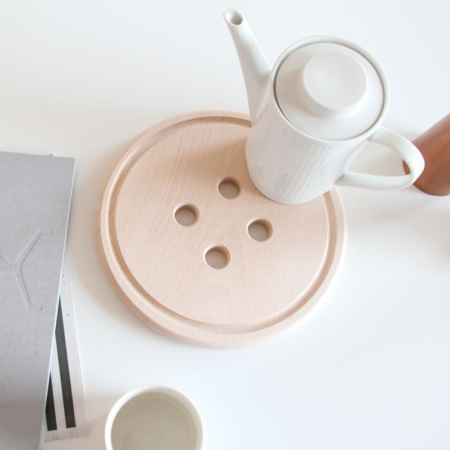 Snug Button Trivet