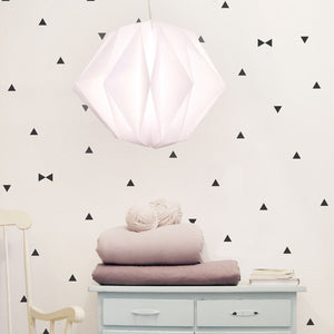 Black Triangle Vinyl Wall Decals