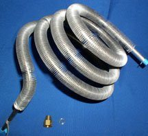 Water Distiller Condensing Coil w/fittings, old Aqua D series Part #WD606 for old Aqua D Distiller