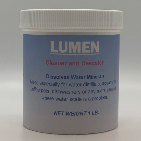 Lumen Water Distiller Descaler and Cleaner