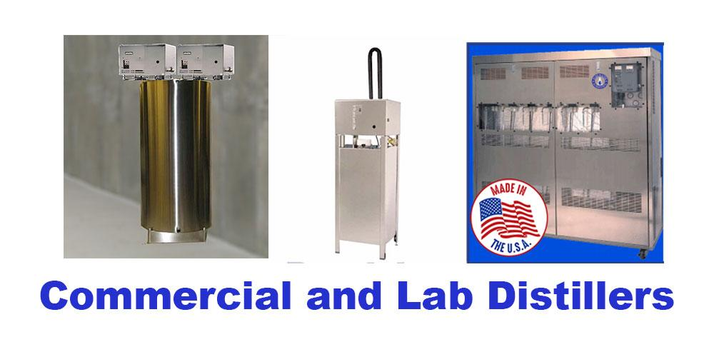 Commercial and Lab Distillers