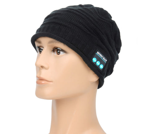 3cc22f2ce1e New Arrival Bluetooth beanie Hat Cap Knitted Winter Magic Hands-free Music   Christmas gift !