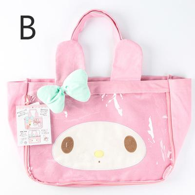 ... Japanese New Toy Hello Kitty My Melody Cinnamoroll Dog Pudding Dog  Plush Backpack Children s Woman Shoulder ... 6607eb8aa03ad