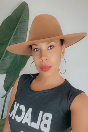 Shay Fedora Hat | Brown - MishMash Boutique