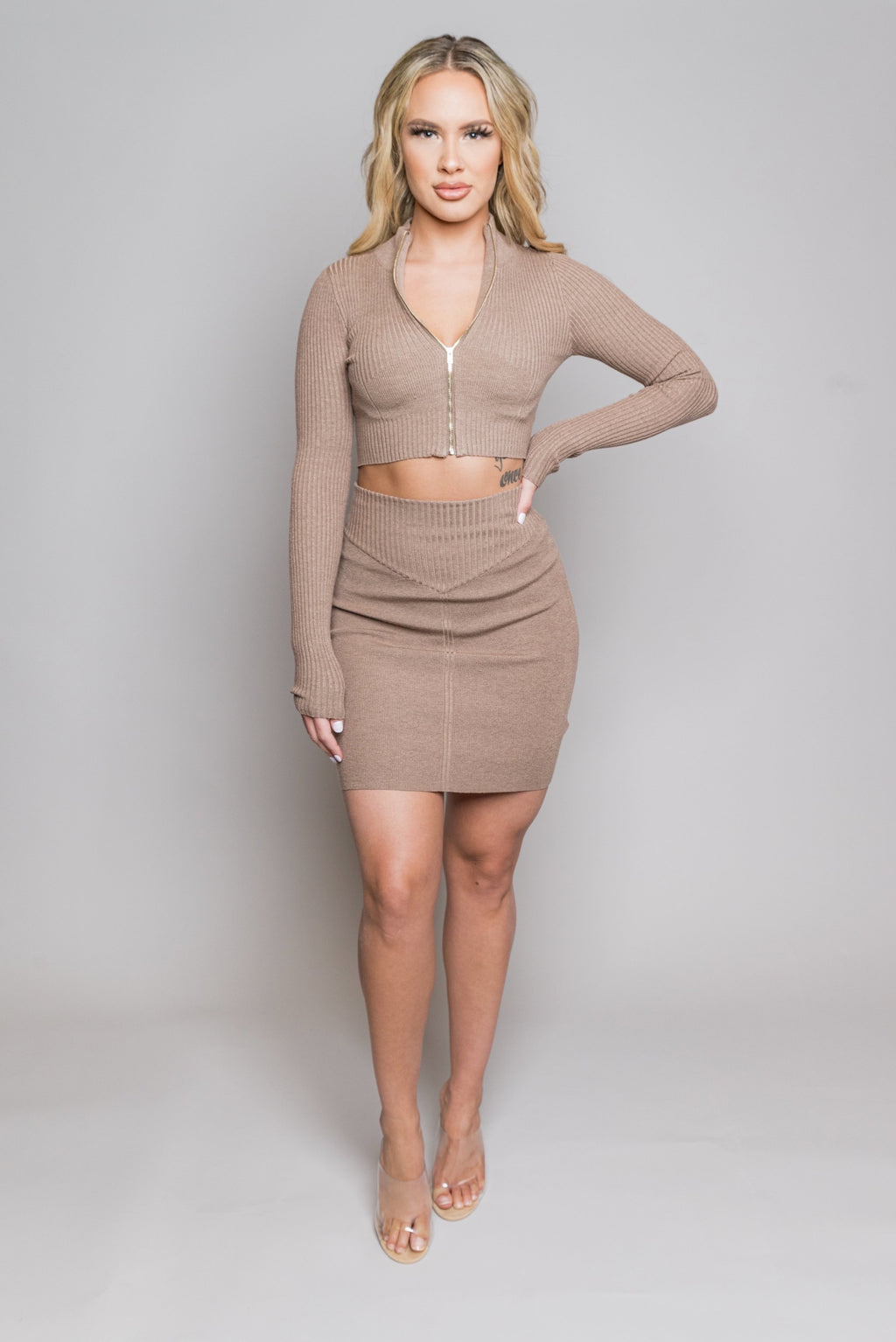 Kayla Set | Brown - MishMash Boutique