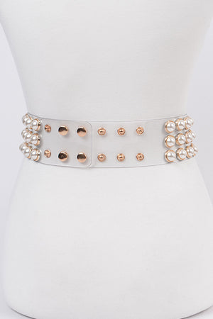 Pearly Belt - MishMash Boutique