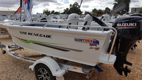 Copy of NEW 2019 QUINTREX 420 RENEGADE TS