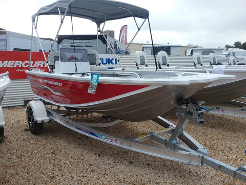 2019 Quintrex 420 Explorer Trophy - SOLD