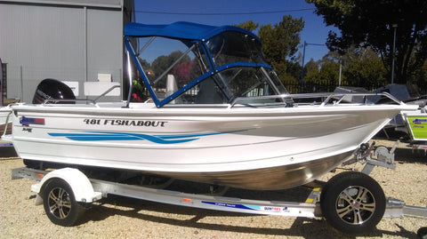 New Quintrex 481 Fishabout