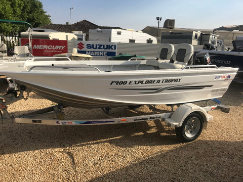 2019 Quintrex 400 Explorer Trophy - SOLD